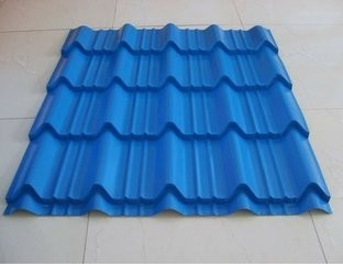 Custom Gi Colour Coated Sheet Pre Painted Galvanized Steel Sheet In Corrugation
