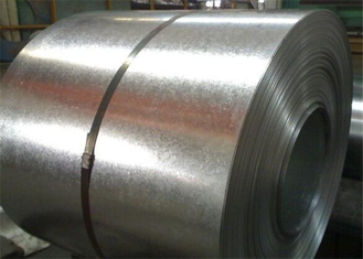 JIS G3141 SPCC Painted Steel Coil / Galvalume Steel Coils 6 - 24 Tons