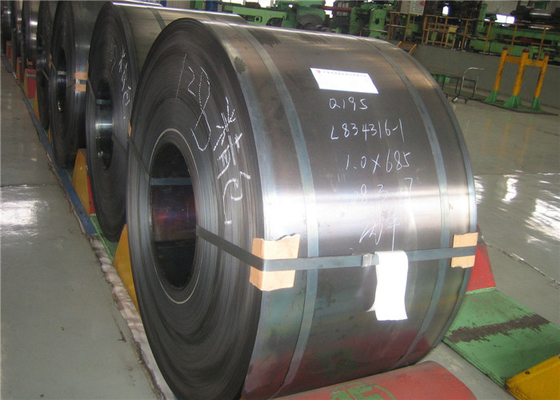 GB JIS DIN AISI ASTM Cold Rolled Steel Coil With Superior Surface Finish